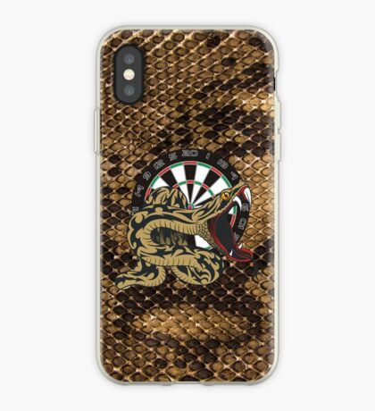Intimidarters Snakeskin Darts Shirt iPhone Case
