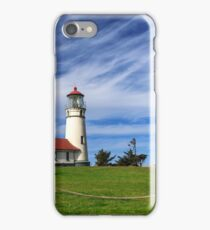 Cape Blanco Lighthouse Above The Rope iPhone Case/Skin