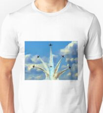 Aerial Acrobatics by the Blue Angels T-Shirt