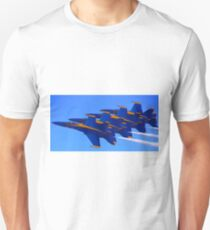 Blue Streaks Unisex T-Shirt