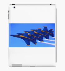 Blue Streaks iPad Case/Skin