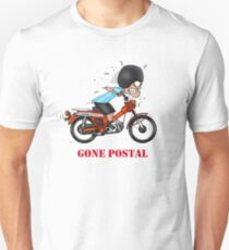 GONE POSTAL POSTIE BIKE MOTORCYCLE VERSION 2 T-Shirt