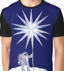 Old Man Winter Hermit and North Star Graphic T-Shirt