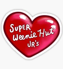 Super Weenie Hut Jrs Sticker