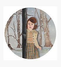 Lucy and the Lantern (Narnia) Photographic Print