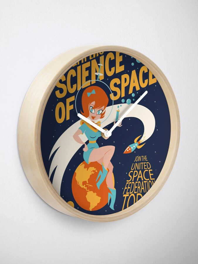 Alternate view of United Space Federation Clock