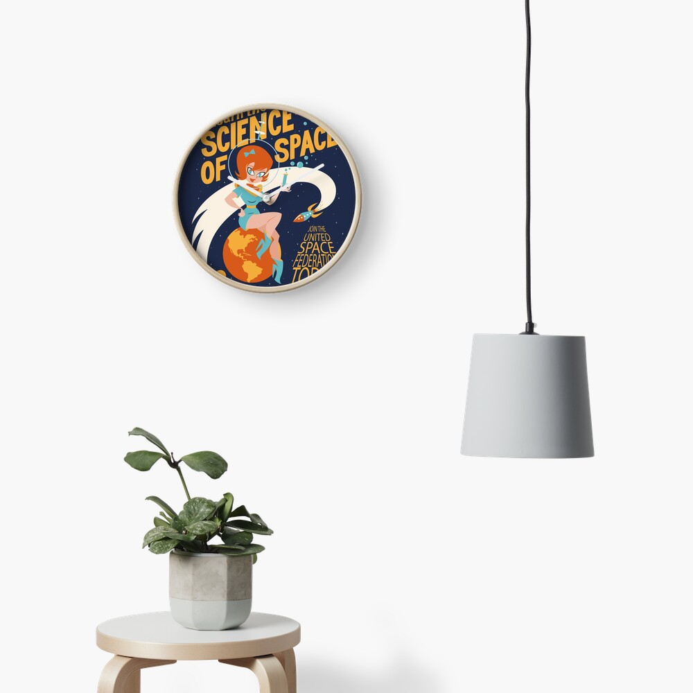 United Space Federation Clock