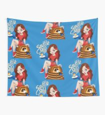 Souffle Girl Wall Tapestry