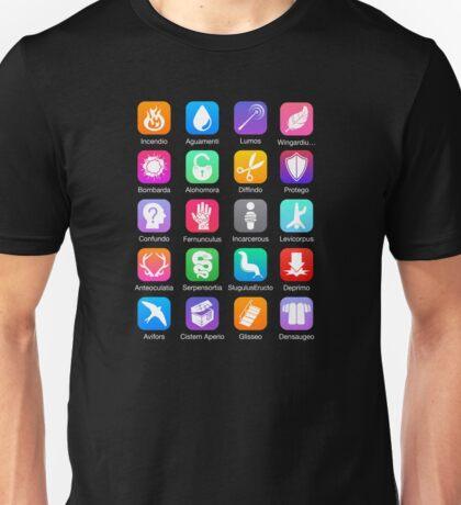 Potter Spell Icons Unisex T-Shirt