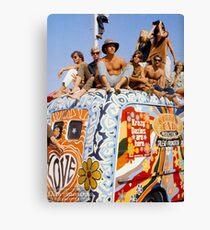 Woodstock Van Canvas Print