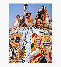 Woodstock Van Photographic Print
