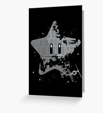 Super Death Star Greeting Card