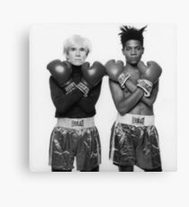 warhol & basquiat Canvas Print