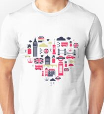 London Heart Unisex T-Shirt