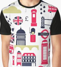 London Heart Graphic T-Shirt