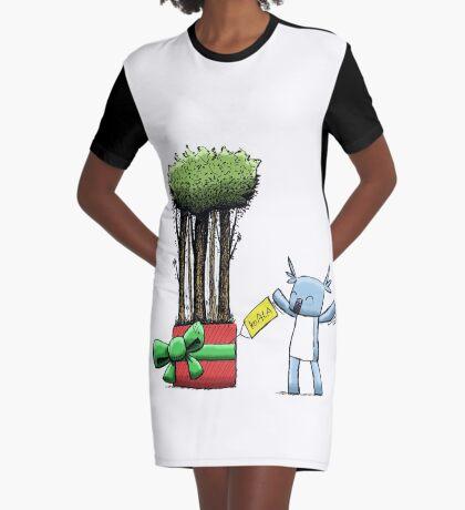 Tree Gift for Koala Graphic T-Shirt Dress