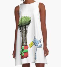 Tree Gift for Koala A-Line Dress