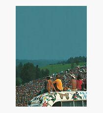 woodstock crowd Photographic Print