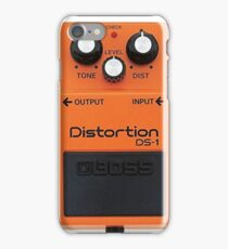 Boss Pedal Series - Orange - Distortion iPhone Case/Skin