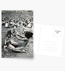 couple at woodstock Postcards