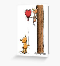 Valentine Possums Greeting Card