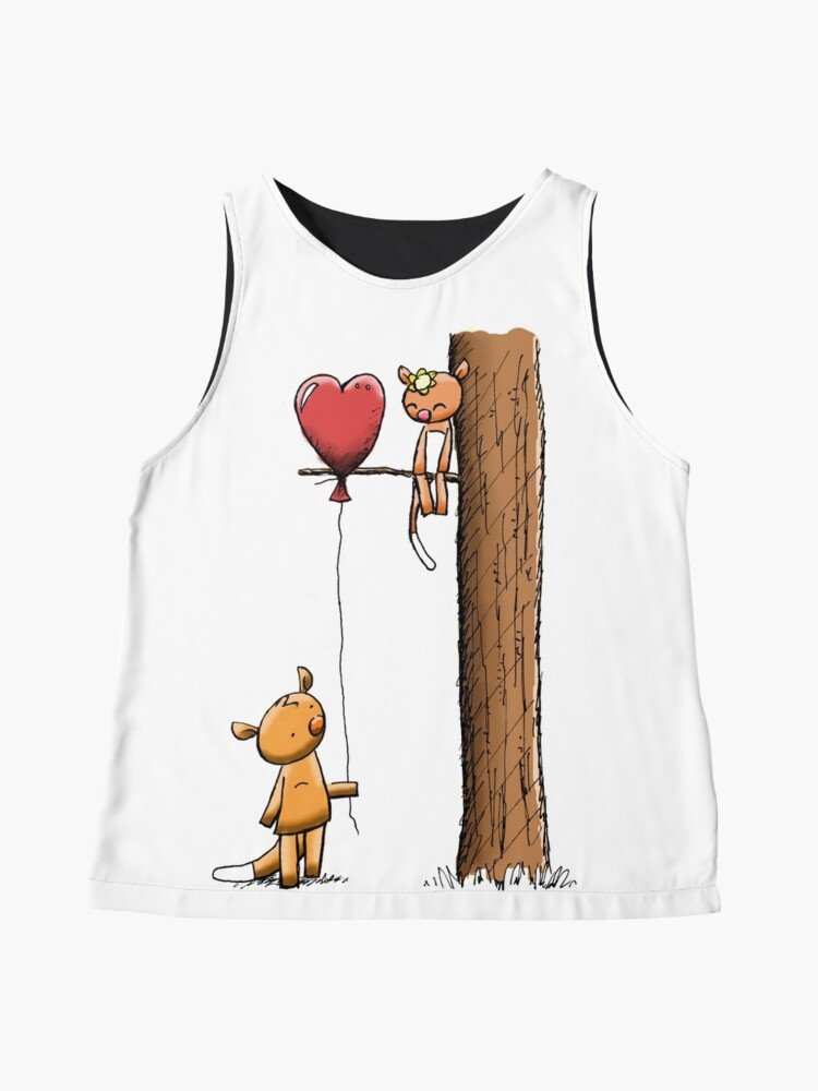 Alternate view of Valentine Possums Sleeveless Top
