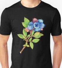 Wild Maine Blueberries Unisex T-Shirt