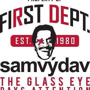 First Dept. samvydav Glass Eye by FirstDept