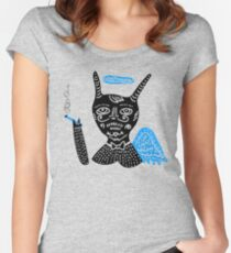 Smoking buddy Women's Fitted Scoop T-Shirt
