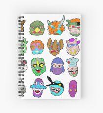 TMNT VIllains Spiral Notebook