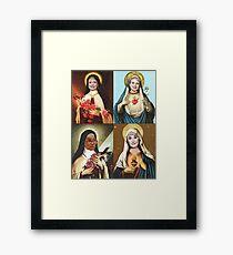 Holy Golden Girls Framed Print