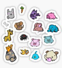 Animal Sticker Pack Sticker
