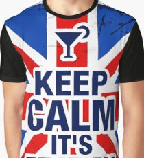 Keep Calm It's Friday Graphic T-Shirt