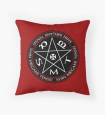 Shin Megami Tensei Pentagram Throw Pillow