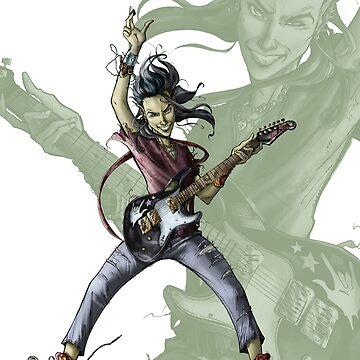 Marionettes in the Mist - Tibo (Goblin & Rock Star heartthrob) 3 by mischiefcorner