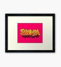 She-Ra Framed Print