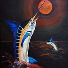 red moon Marlin by Elisabeth Dubois