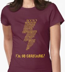 I'm So Charming! Women's Fitted T-Shirt