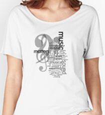 Music Matters Women's Relaxed Fit T-Shirt
