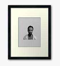 Evil Abed Framed Print