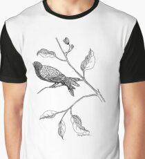 Hallway Bird Graphic T-Shirt