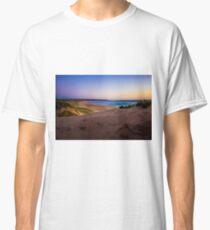Sand dunes at Gunnamatta Surf Beach, Mornington Peninsula, Victoria, Australia Classic T-Shirt
