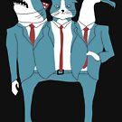 Shark Cat Albatross by obinsun
