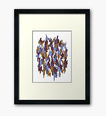 Scraggly Framed Print
