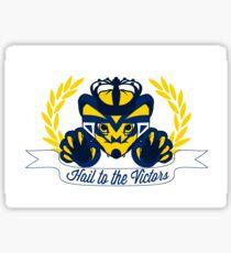 Crowned Wolverine Sticker