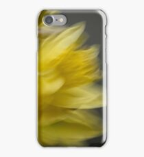 Yellow and Grey - Impressionist Daffodils iPhone Case/Skin