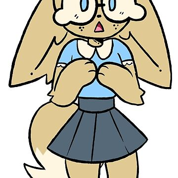 Fennec Girl by SmudgeBubble