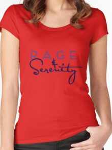 Rage & Serenity Women's Fitted Scoop T-Shirt