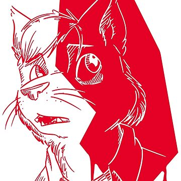 ANGST - RED by birdthing