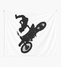 Motocross Wall Tapestry